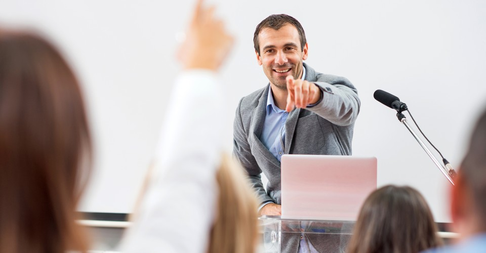 Group presentation skills